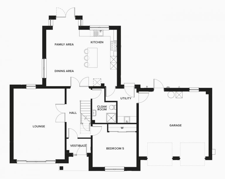 The Juniper Ground Floor